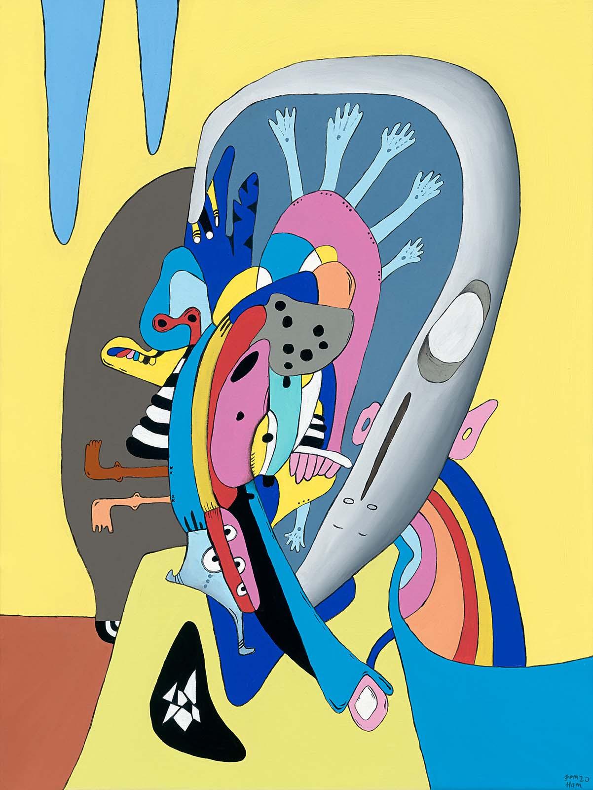 Oil painting Jem Ham Portfolio